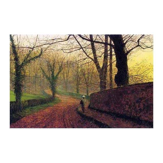 pinturas de paisagens - Quadro -Stapleton Park near Pontefract-