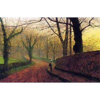 - Quadro -Stapleton Park near Pontefract- - Grimshaw, John Atkinson