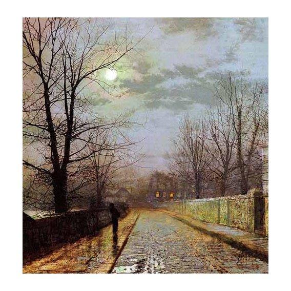 pinturas de paisagens - Quadro -Calle de Cheshire-
