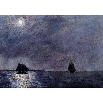 quadros de paisagens marinhas - Quadro -Eastern Point Light- - Homer, Winslow