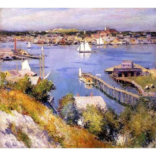 Quadro -Puerto de Gloucester-