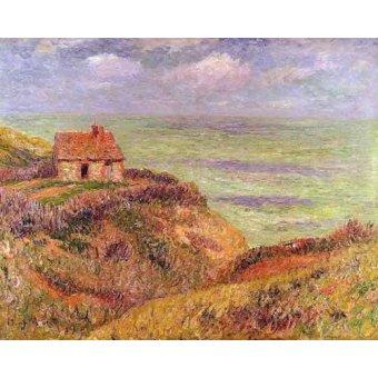 quadros de paisagens marinhas - Quadro -Acantilados de Moelian, Finistere- - Moret, Henri