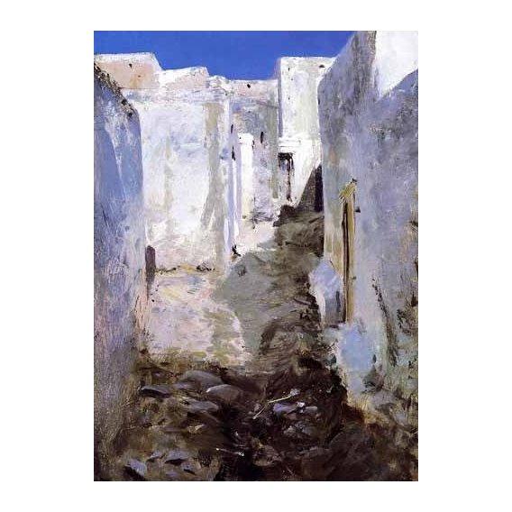 pinturas de paisagens - Quadro -Calle de Algiers-