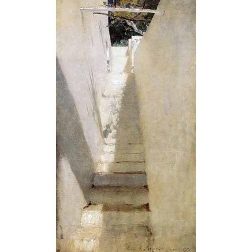 Quadro -Escalinata en Capri-