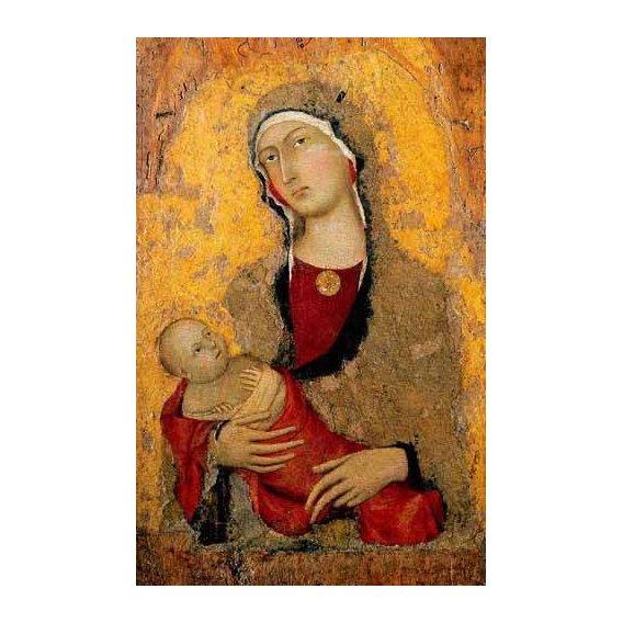 religious paintings - Picture -Madona con Niño-