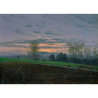 - Quadro -Campos arados- - Friedrich, Caspar David