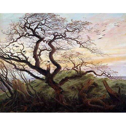 Quadro -El arbol de los cuervos-