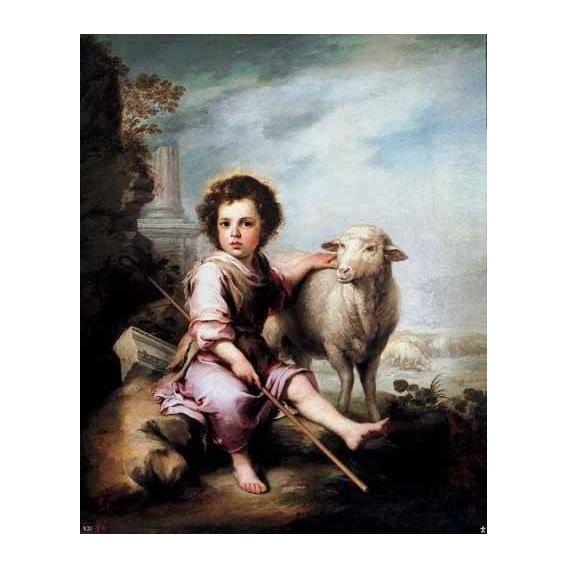 religious paintings - Picture -El Buen Pastor-