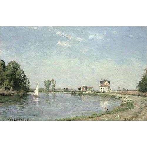 Quadro -Al borde del río-