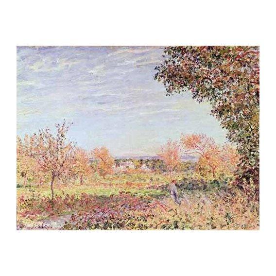 pinturas de paisagens - Quadro -Mañana de Septiembre-