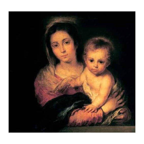 imagens religiosas - Quadro -La Virgen y el Niño-