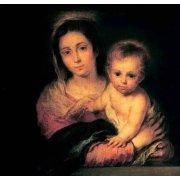 Quadro -La Virgen y el Niño-