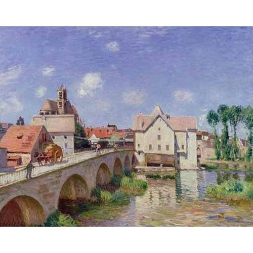 Quadro -El puente de Moret-