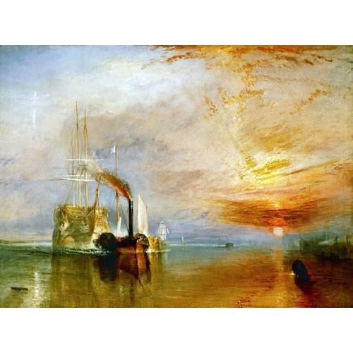 pinturas de paisagens marinhas - Quadro -The Fighting Temeraire-