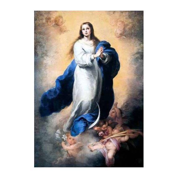 religious paintings - Picture -Inmaculada Concepción del Escorial-