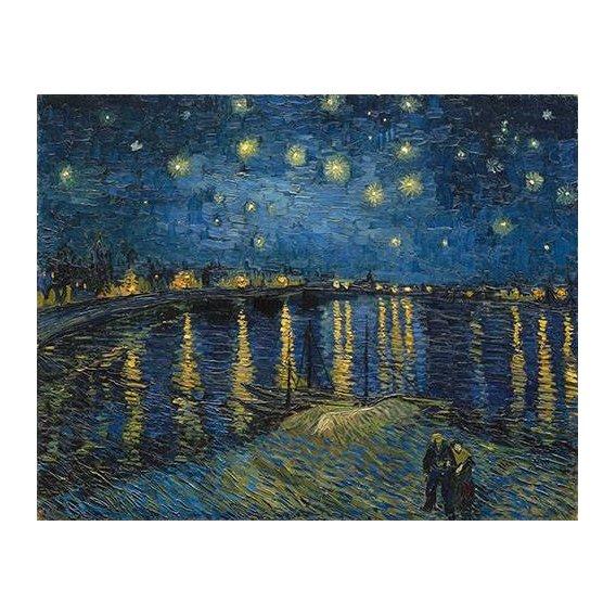 pinturas de paisagens - Quadro -The starry night-