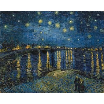 - Quadro -The starry night- - Van Gogh, Vincent