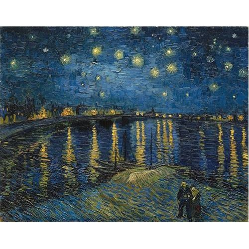 Quadro -The starry night-