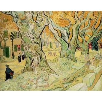 quadros de paisagens - Quadro -Los empedradores- - Van Gogh, Vincent