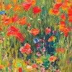 quadros de flores
