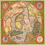 imagens de mapas, gravuras e aquarelas