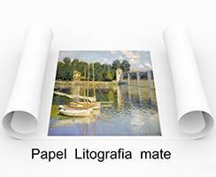 Papel litografia