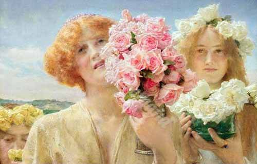 """Summer Offering"" de Alma-Tadema"