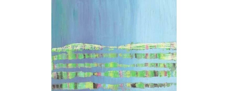 Composição de quadros abstratos passo a passo - Blog Artisan Gallery